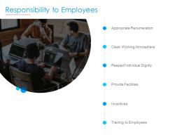 Responsibility To Employees Ppt Powerpoint Presentation Slides File Formats