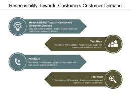 Responsibility Towards Customers Customer Demand Ppt Powerpoint Presentation Layouts Gridlines Cpb