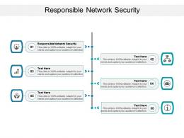Responsible Network Security Ppt Powerpoint Presentation Styles Design Templates Cpb