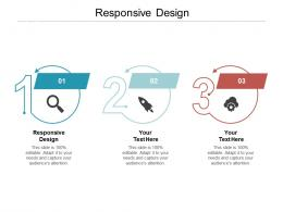 Responsive Design Ppt Powerpoint Presentation Model Clipart Images Cpb