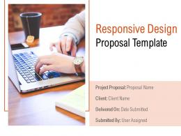 Responsive Design Proposal Template Powerpoint Presentation Slides