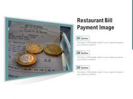 Restaurant Bill Payment Image