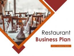 Restaurant Business Plan Powerpoint Presentation Slides