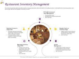 Restaurant Inventory Management Ppt Powerpoint Presentation Graphics Download