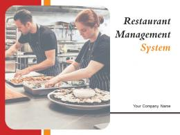 Restaurant Management System Powerpoint Presentation Slides