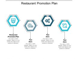 Restaurant Promotion Plan Ppt Powerpoint Presentation Ideas Smartart Cpb
