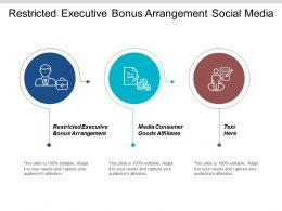 Restricted Executive Bonus Arrangement Social Media Consumer Goods Affiliates Cpb