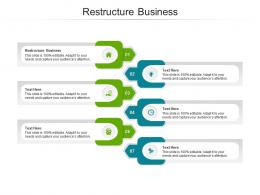 Restructure Business Ppt Powerpoint Presentation Professional Background Images Cpb