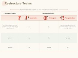 Restructure Teams Ppt Powerpoint Presentation Summary Icons