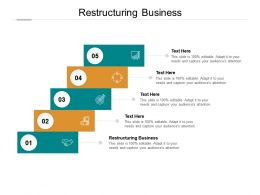 Restructuring Business Ppt Powerpoint Presentation Inspiration Backgrounds Cpb