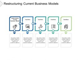 Restructuring Current Business Models Ppt Powerpoint Presentation Infographic Template Structure Cpb