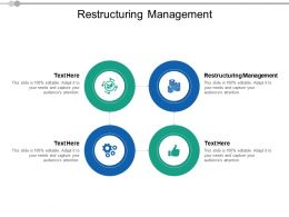 Restructuring Management Ppt Powerpoint Presentation Pictures Inspiration Cpb
