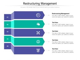 Restructuring Management Ppt Powerpoint Presentation Slides Display Cpb