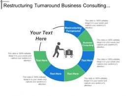 Restructuring Turnaround Business Consulting Lines Business Cross Sectional Areas