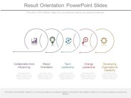 Result Orientation Powerpoint Slides