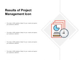 Results Of Project Management Icon