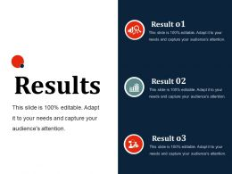 Results Ppt Slides Shapes