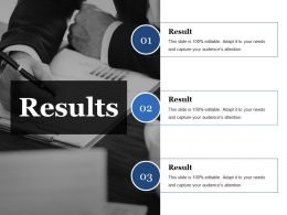 Results Ppt Visuals