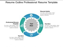 Resume Outline Professional Resume Template Perfect Resume Example Cpb