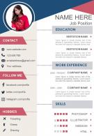 Resume Template Creative CV Design For Professionals