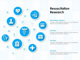 Resuscitation Research Ppt Powerpoint Presentation Slides Inspiration