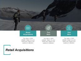Retail Acquisitions Ppt Powerpoint Presentation Icon Graphics Cpb