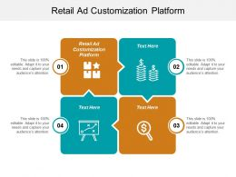 Retail Ad Customization Platform Ppt Powerpoint Presentation Gallery Objects Cpb