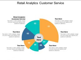Retail Analytics Customer Service Ppt Powerpoint Presentation Model Outfit Cpb