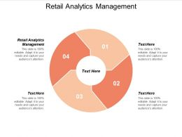 Retail Analytics Management Ppt Powerpoint Presentation Gallery Outfit Cpb