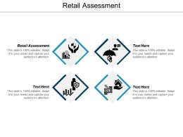 Retail Assessment Ppt Powerpoint Presentation Icon Sample Cpb