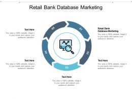Retail Bank Database Marketing Ppt Powerpoint Presentation Gallery Master Slide Cpb