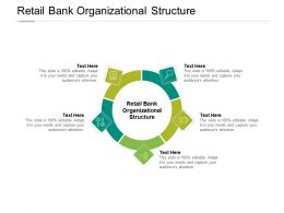 Retail Bank Organizational Structure Ppt Powerpoint Presentation Visual Cpb
