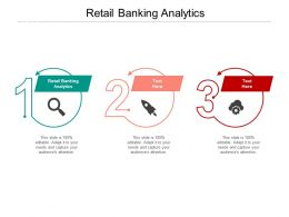 Retail Banking Analytics Ppt Powerpoint Presentation File Demonstration Cpb