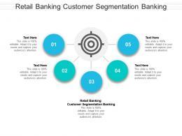 Retail Banking Customer Segmentation Banking Ppt Powerpoint Presentation Inspiration Layout Ideas Cpb