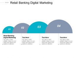 Retail Banking Digital Marketing Ppt Powerpoint Presentation Show Display Cpb