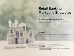 Retail Banking Marketing Strategies Ppt Powerpoint Presentation Model Files Cpb