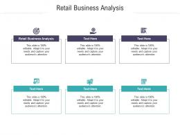 Retail Business Analysis Ppt Powerpoint Presentation Ideas Mockup Cpb