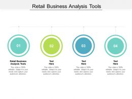 Retail Business Analysis Tools Ppt Powerpoint Presentation Information Cpb