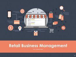 Retail Business Management Powerpoint Presentation Slides