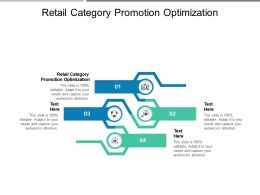 Retail Category Promotion Optimization Ppt Inspiration Graphics Template Cpb