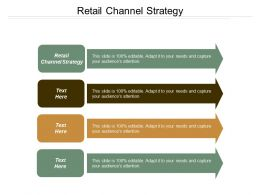Retail Channel Strategy Ppt Powerpoint Presentation Infographic Template Pictures Cpb