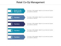 Retail Co Op Management Ppt Powerpoint Presentation Summary Designs Download Cpb
