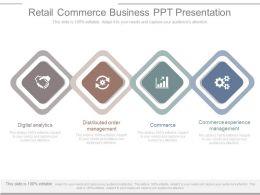 Retail Commerce Business Ppt Presentation