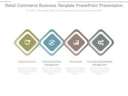Retail Commerce Business Template Powerpoint Presentation