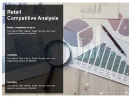 Retail Competitive Analysis Ppt Powerpoint Presentation Infographic Template Information Cpb