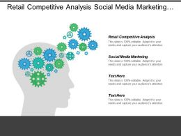 Retail Competitive Analysis Social Media Marketing Facilities Management Cpb