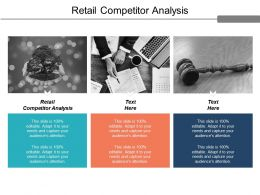 Retail Competitor Analysis Ppt Powerpoint Presentation Infographic Template Ideas Cpb