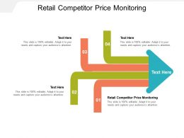 Retail Competitor Price Monitoring Ppt Powerpoint Presentation Layouts Rules Cpb