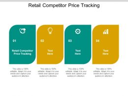 Retail Competitor Price Tracking Ppt Powerpoint Presentation Infographics Cpb