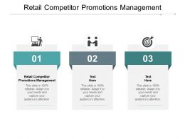 Retail Competitor Promotions Management Ppt Powerpoint Presentation Gridlines Cpb